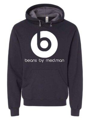 beans hoodie black-c