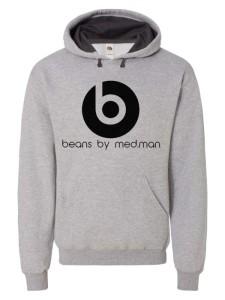 beans hoodie grey-c