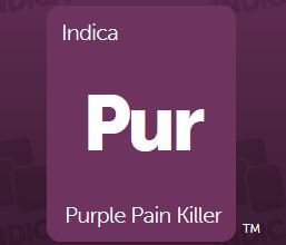 purple pain killer